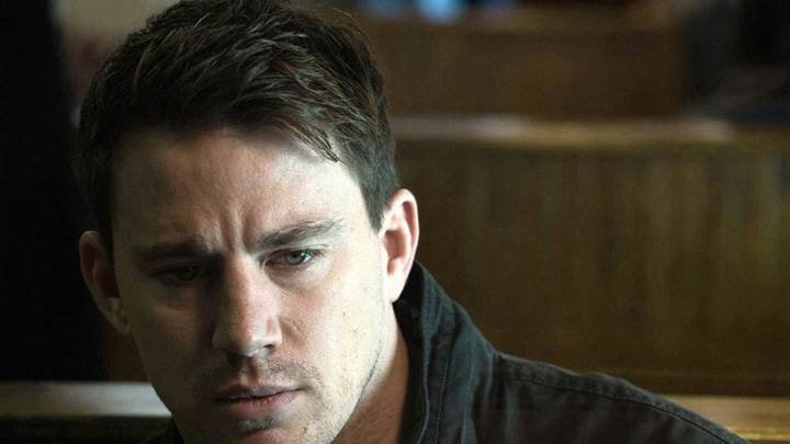 Channing Tatum Looking In Stress Face Photoshoot